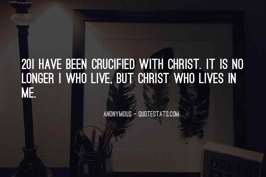 Quotes About Crucified #402526