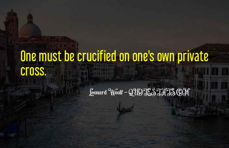 Quotes About Crucified #704923