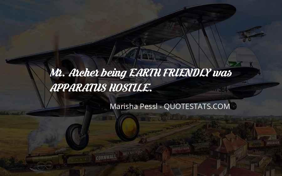 Quotes About Being Earth Friendly #310094