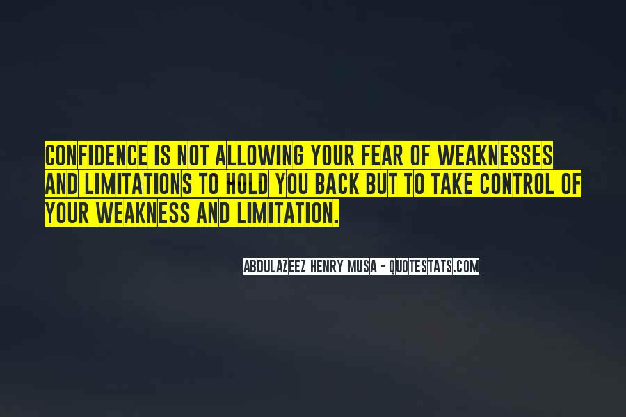 Quotes About Limitations #101621