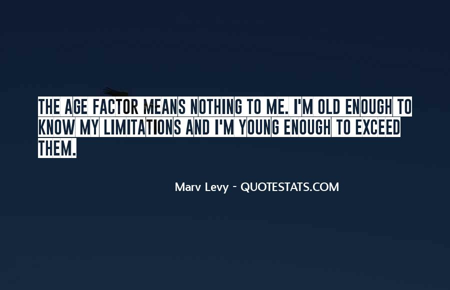 Quotes About Limitations #10396