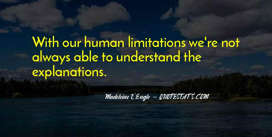 Quotes About Limitations #122837