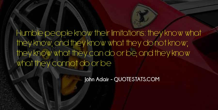 Quotes About Limitations #129191