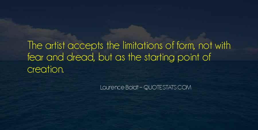 Quotes About Limitations #132767
