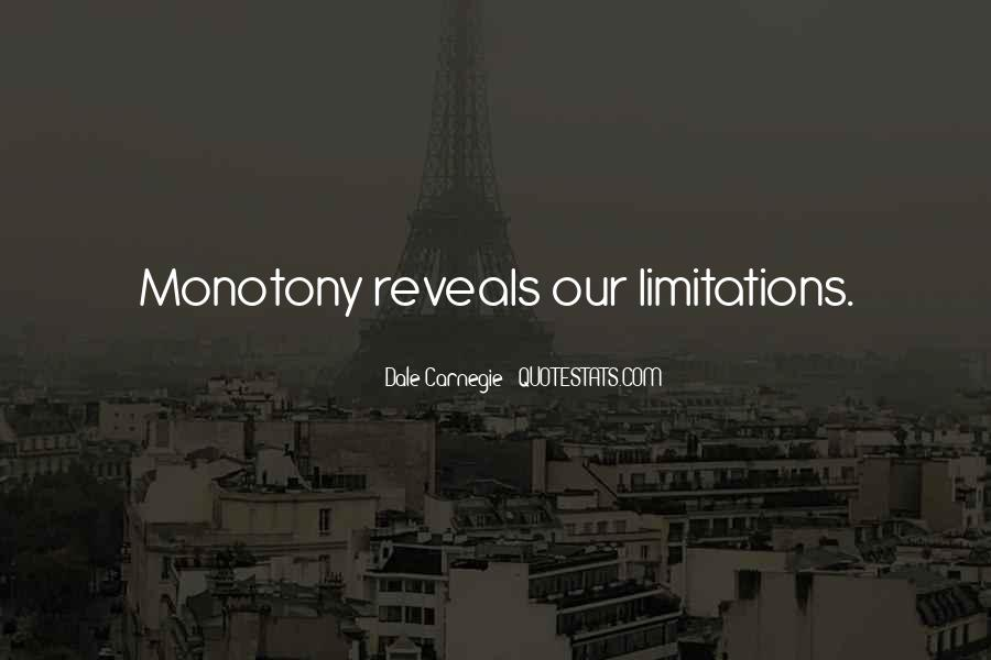 Quotes About Limitations #137396