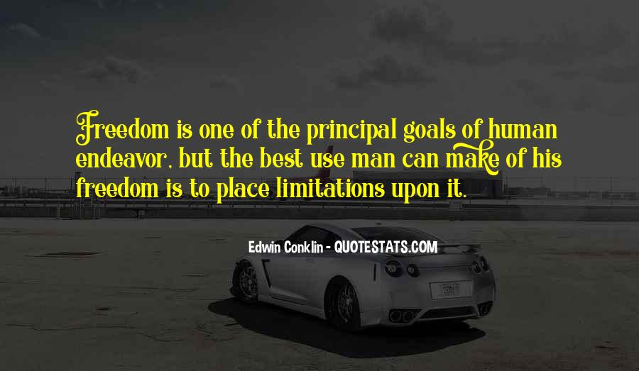 Quotes About Limitations #147045