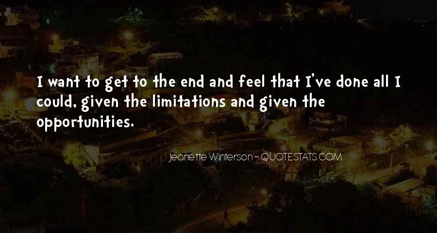 Quotes About Limitations #170072