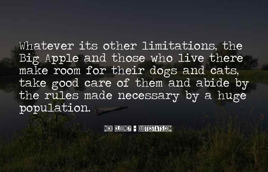 Quotes About Limitations #43262