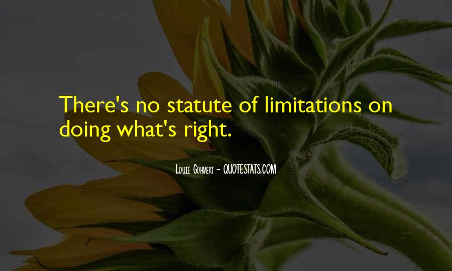 Quotes About Limitations #59889