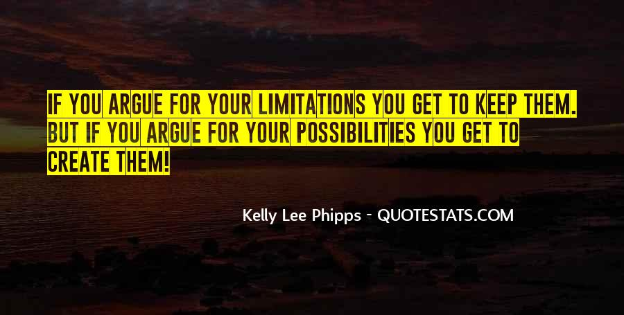 Quotes About Limitations #62085