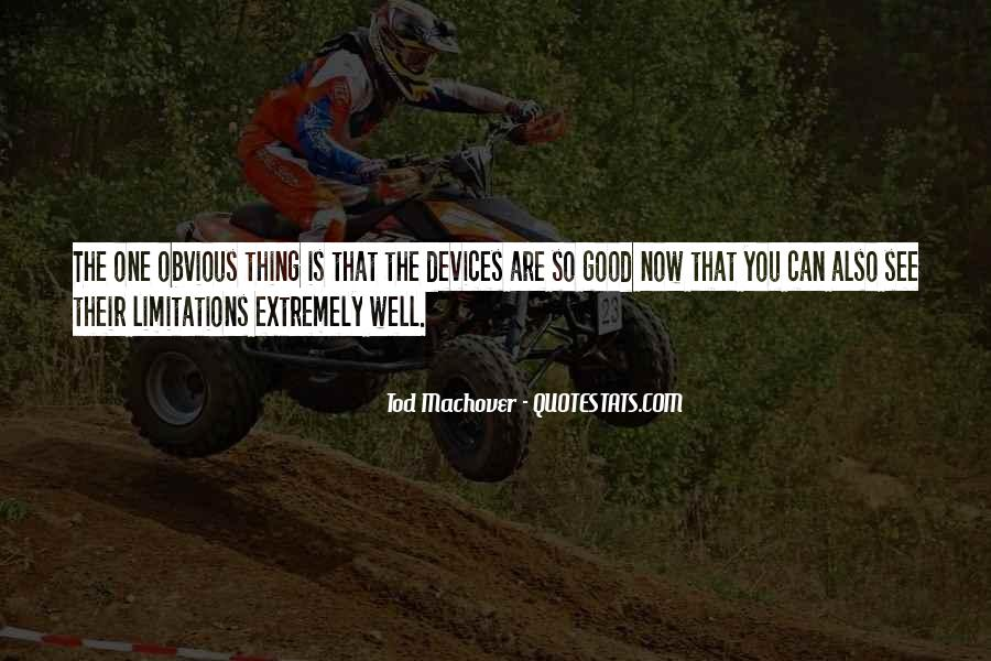 Quotes About Limitations #63192