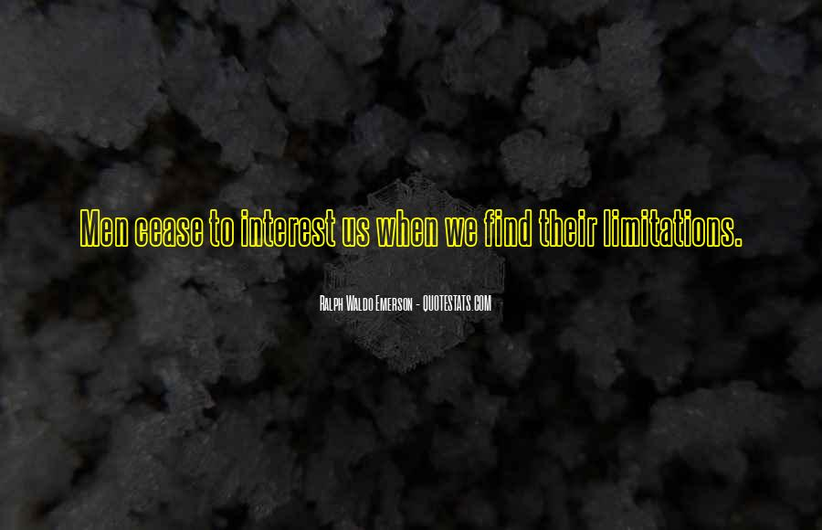 Quotes About Limitations #79323