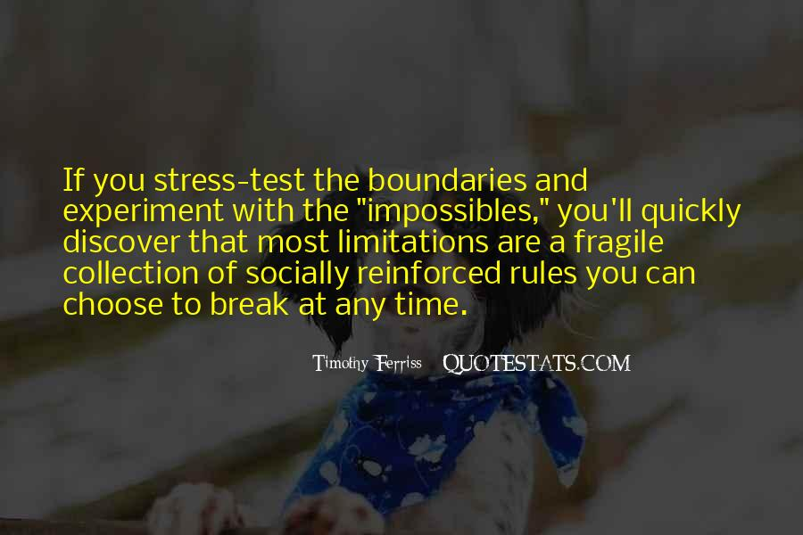 Quotes About Limitations #88201