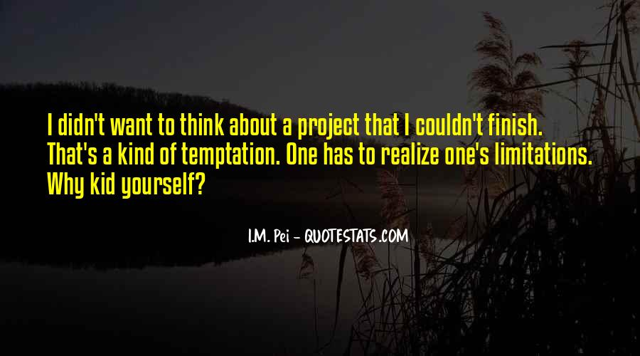 Quotes About Limitations #89283