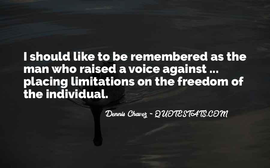 Quotes About Limitations #89300