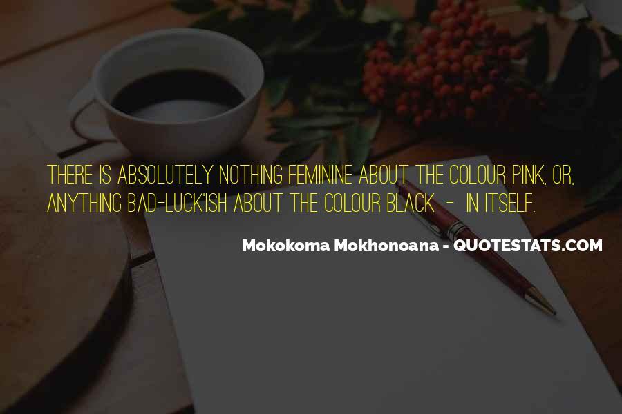 Quotes About Colour Black #1403912
