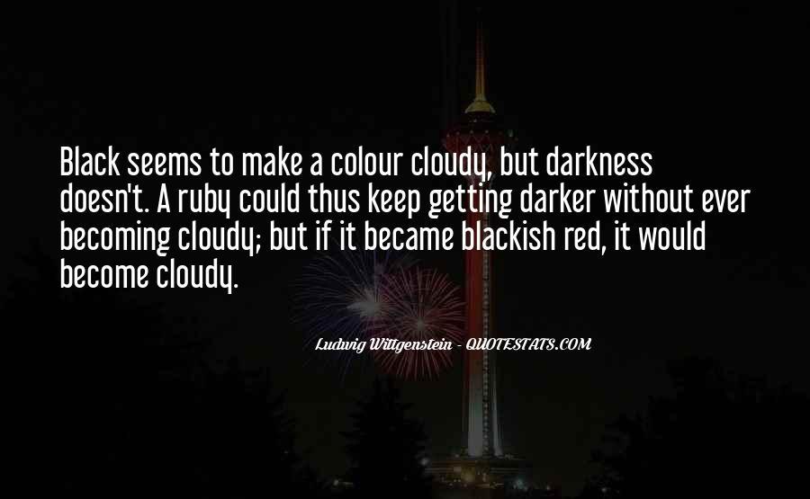Quotes About Colour Black #1789413