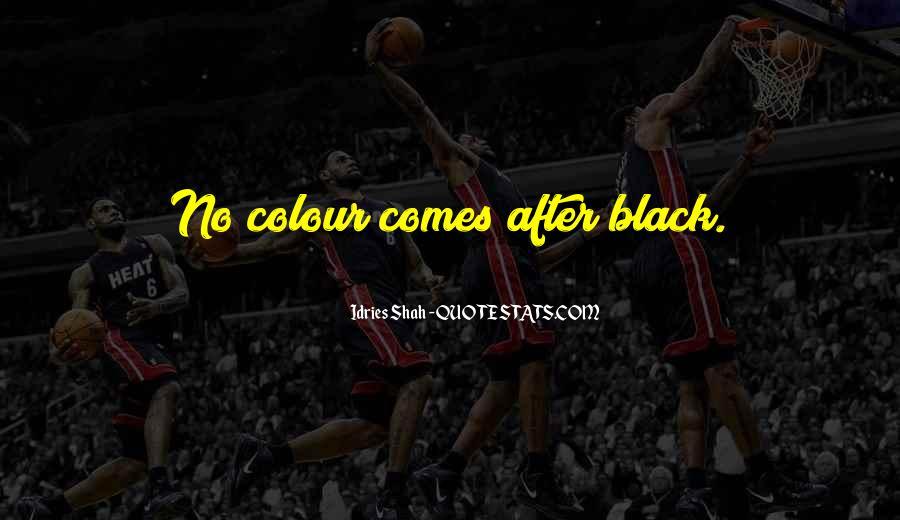Quotes About Colour Black #3412