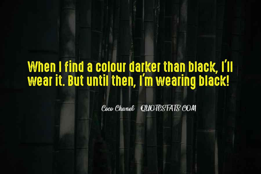 Quotes About Colour Black #377022