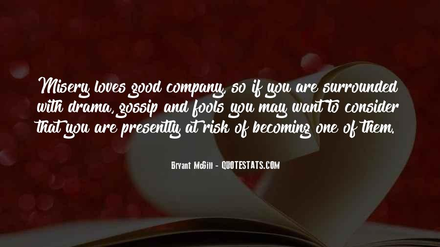 Quotes About The Foolishness Of Love #1609437