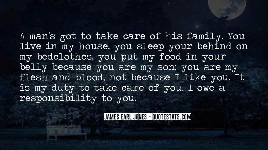 Quotes About Not Blood Family #1251871