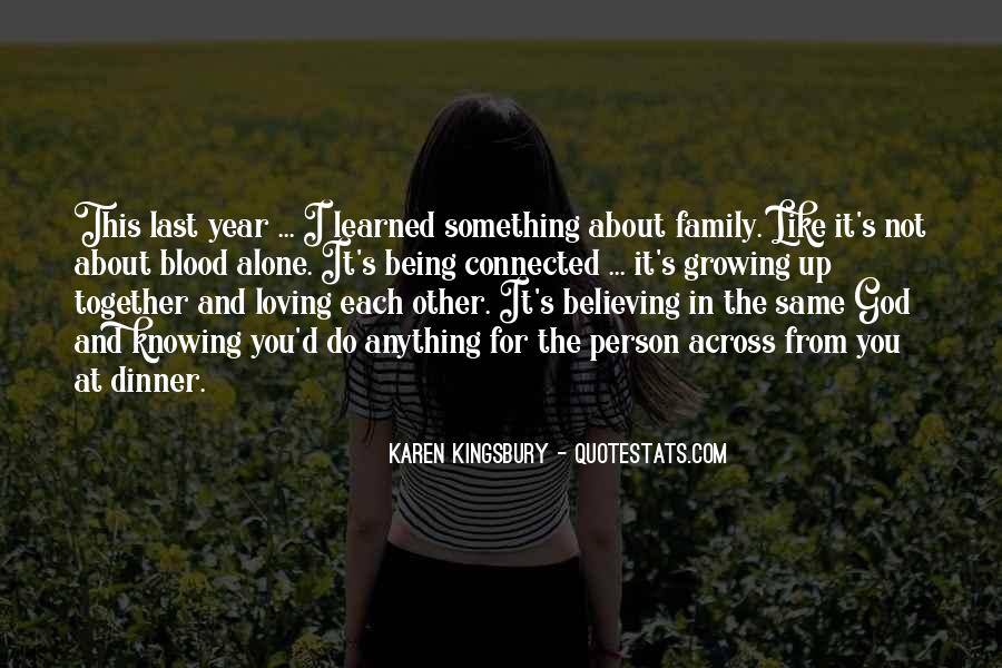 Quotes About Not Blood Family #1579333