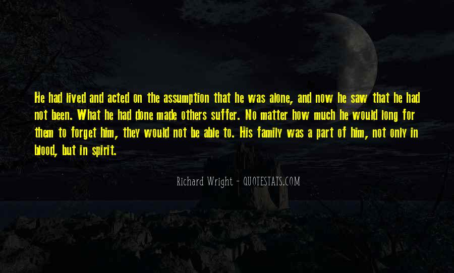 Quotes About Not Blood Family #914430