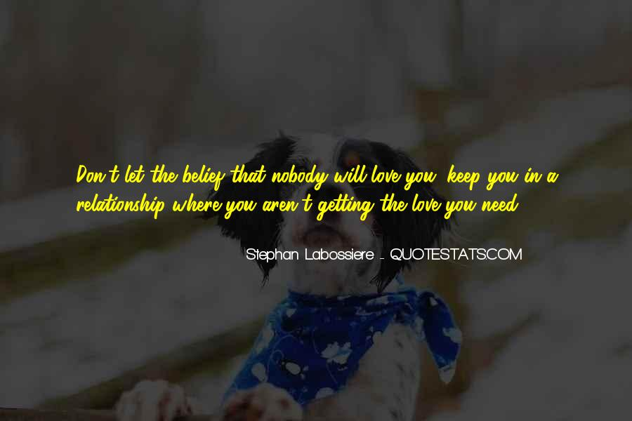 Quotes About Settling For Less In Love #536226