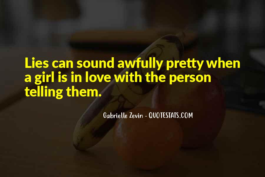 Quotes About A Pretty Girl #31477