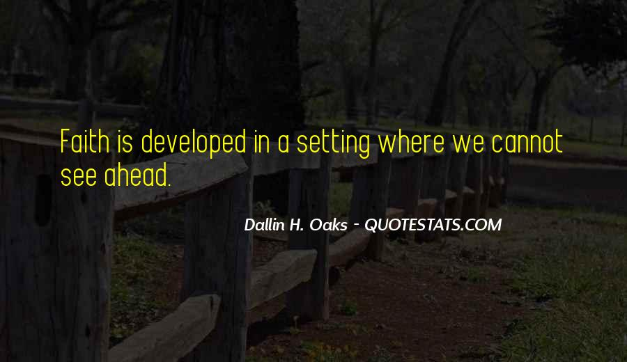 Quotes About Settings #213635