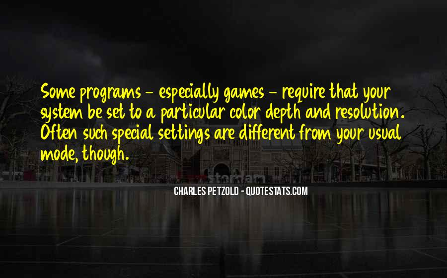Quotes About Settings #231451