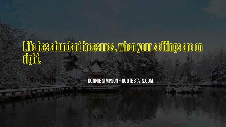 Quotes About Settings #335153