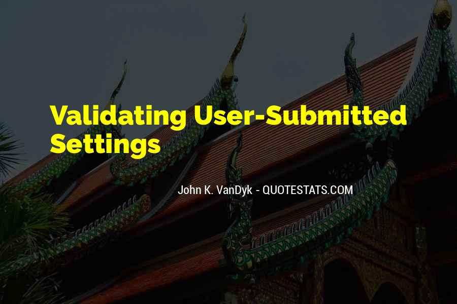 Quotes About Settings #571123