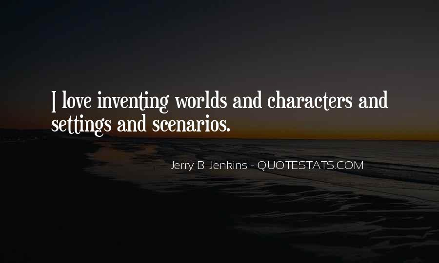 Quotes About Settings #701644