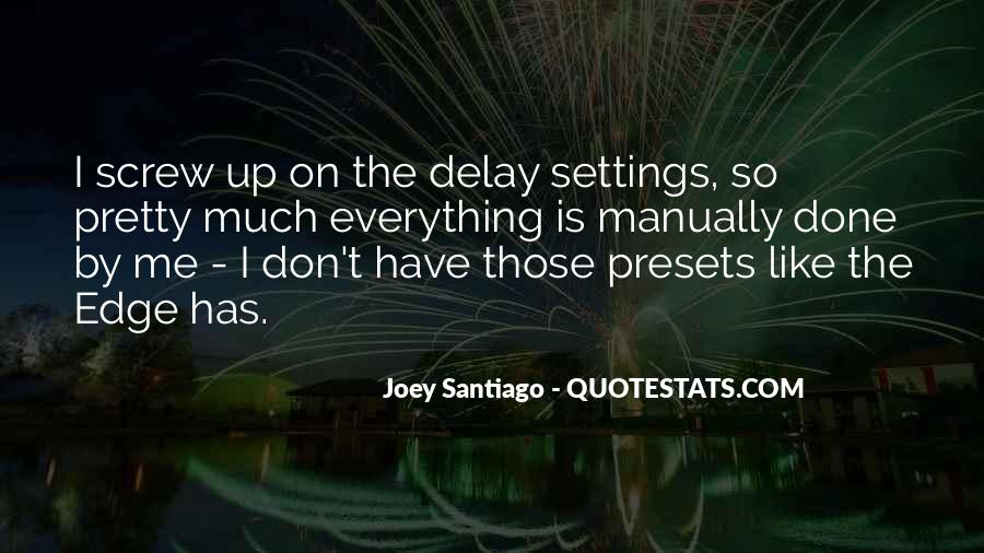 Quotes About Settings #873058