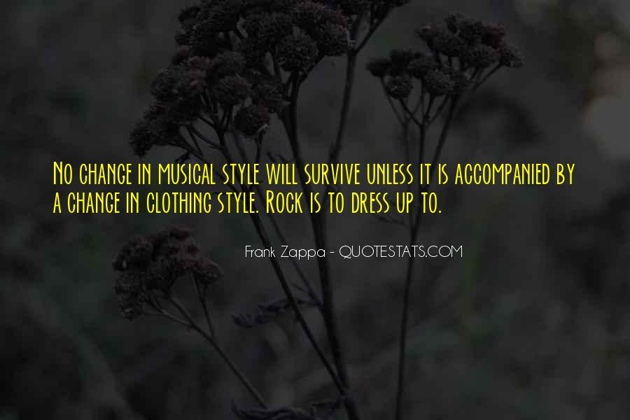 Quotes About Clothing Style #1089863