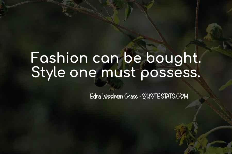 Quotes About Clothing Style #1321718