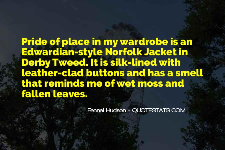 Quotes About Clothing Style #1845505