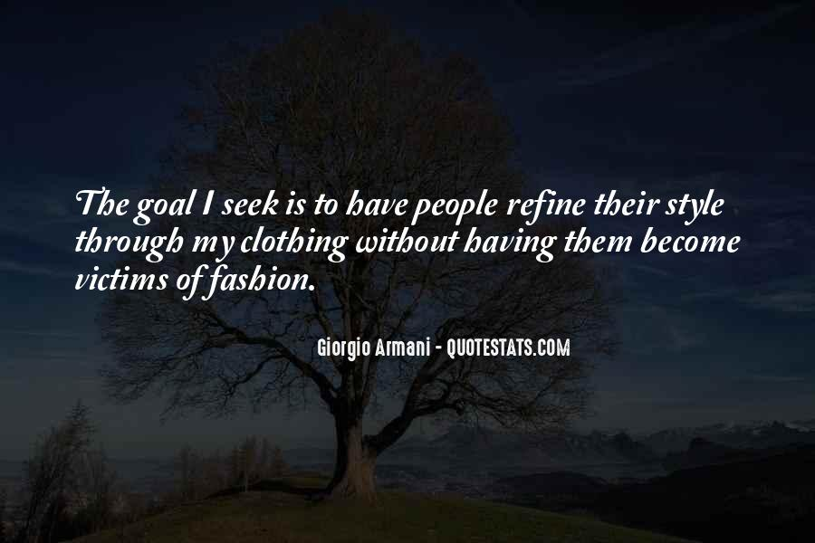 Quotes About Clothing Style #411460