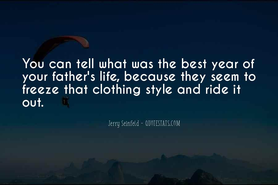 Quotes About Clothing Style #593706