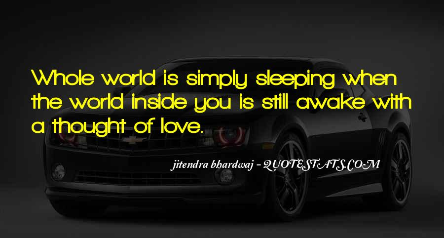 Quotes About Still Awake #48200