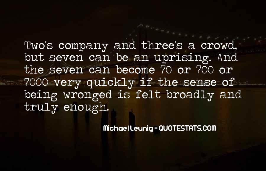 Quotes About Uprising #1116071