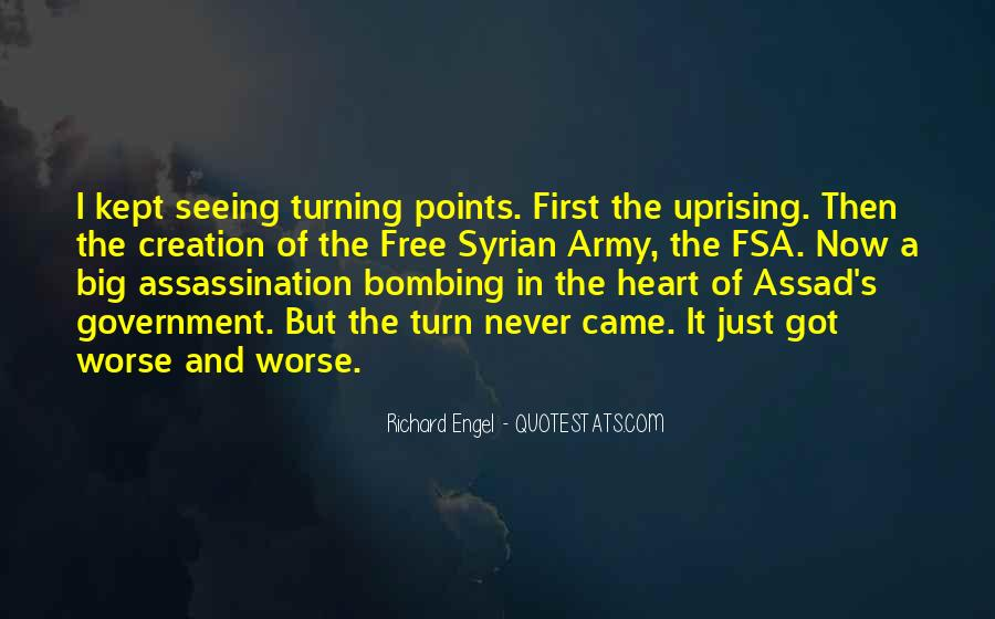 Quotes About Uprising #438658
