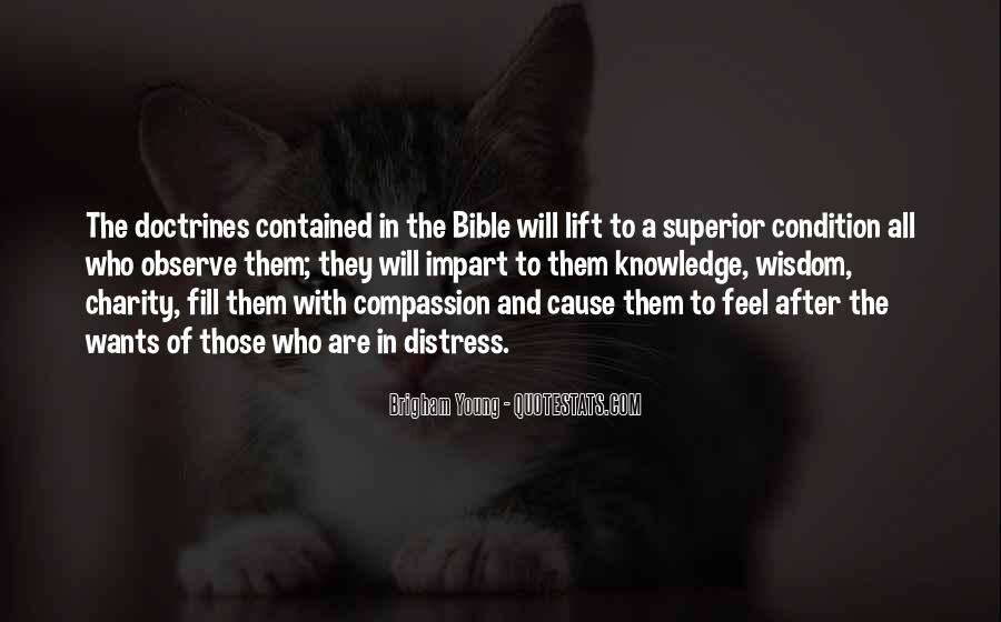 Quotes About Knowledge In The Bible #1032655