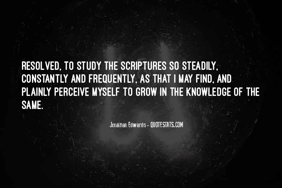 Quotes About Knowledge In The Bible #1196023