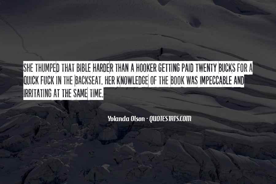 Quotes About Knowledge In The Bible #1470085
