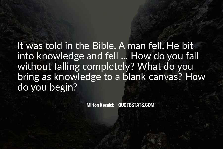 Quotes About Knowledge In The Bible #1751065
