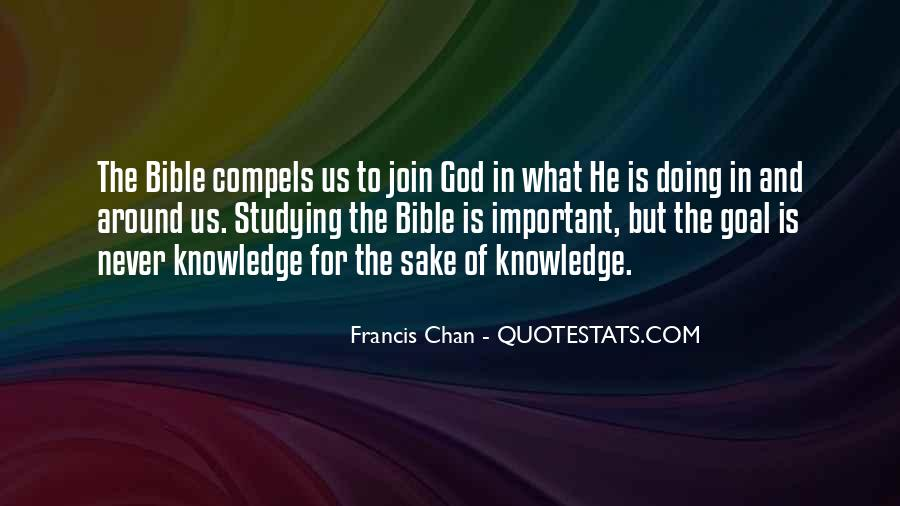 Quotes About Knowledge In The Bible #283509