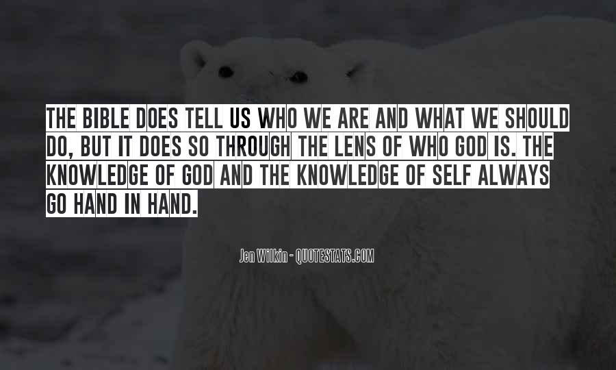 Quotes About Knowledge In The Bible #445535