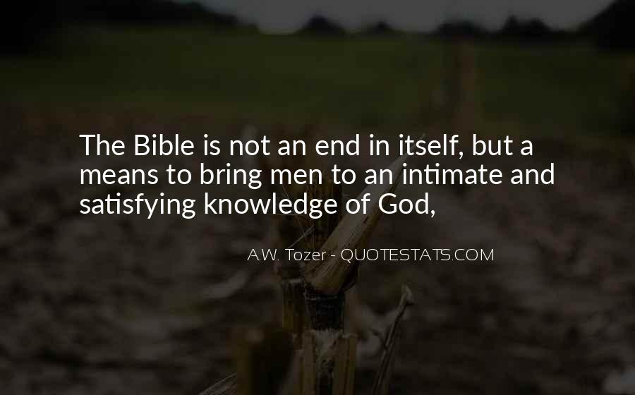 Quotes About Knowledge In The Bible #501723